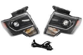 2012 ford f150 projector headlights oem svt raptor hid projector headlights now available for 2009