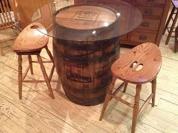 Whiskey Barrel Pub Table Barrel Pub Table Amish Oak Furniture Co Best Sellers