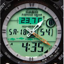 reading l with timer casio fishing timer watch 221848 watches at sportsman s guide