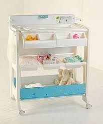 Bath Changing Table This Innovative Bath And Changing Center Offers The Convenience Of