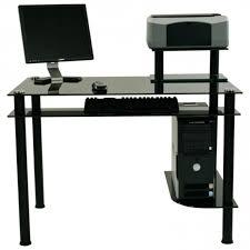 Movable Computer Desk Mobile Computer Desk Tower Student Workstation With Printer Shelf
