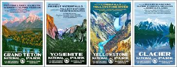 Department Of The Interior National Park Service National Park Posters Home Facebook