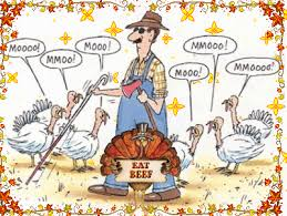 going rv way turkey day to the cows football to the