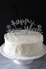 Happy New Year Cake Decoration by Diy New Year U0027s Eve Cake Topper