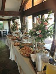 restaurant buffet tables for sale like the round table at the end for plates decorated with some