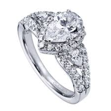 Pear Shaped Wedding Ring by 14k White Gold Pear Shape Halo Engagement Ring Wedding Day Diamonds
