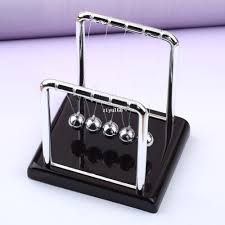 Office Desk Toys 2018 10x Newton Cradle Steel Balance Physic School