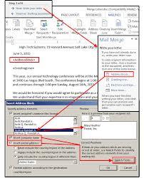 Excel Mail Merge Template Mail Merge Master Class How To Merge Your Excel Contact Database