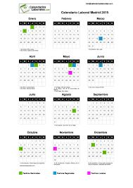imagenes calendario octubre 2015 para imprimir calendario laboral madrid 2015