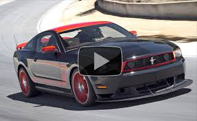 Mustang Boss 302 Black And Red Ford Mustang Boss 302 Laguna Seca 2011 Best Driver U0027s Car