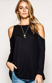 cold shoulder tops best 25 cold shoulder ideas on black cold shoulder