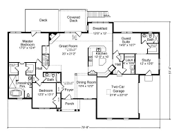 flooring guest house floor plans the deck guest house floor plan 2553 with in law suite wouldn t change a thing house