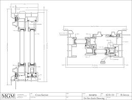 sliding glass door plan and floor plan symbols door design