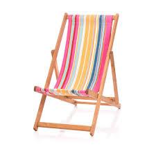 Multi Coloured Chairs by Folding Deckchair Multicolour Stripes Deckchair Fabric South