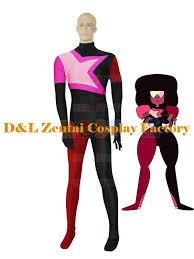 Woman Superhero Halloween Costumes Dhl Garnet Steven Universe Female Superhero Catsuit Cosplay