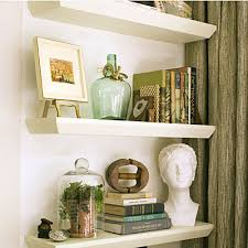 How To Decorate Floating Shelves Floating Shelves Nichefix