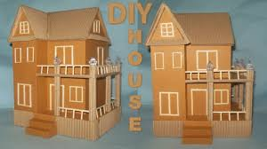 how to make cardboard house diy crafts best out of waste
