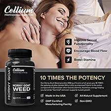 cellium horny goat weed men and women stamina performance