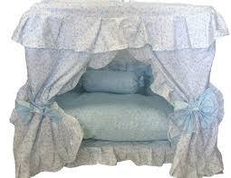 luxurious dog bed with canopy home decor furniture blue dog bed with canopy
