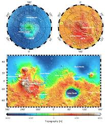 Mars Map Image Gallery