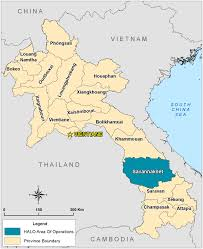 Laos World Map by Our Work In Laos What We Do And Where The Halo Trust