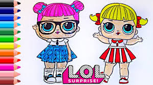 lol surprise baby doll coloring pages kids lol dolls surprise