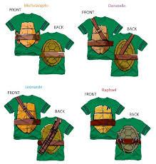 tmnt tv cartoon costume shirts cartoon apparel