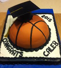 Home Decorated Cakes by Basketball Graduation Cake My Cakes Pinterest Cake Food And