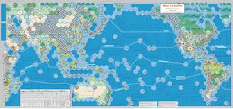 World War 3 Map by Fatal Alliances The Great War Available Games