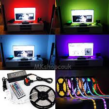 tv back light led strip lighting video under cabinet counter tv back light led strip lighting video