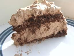 cake of the week chocolate torta di zabaglione