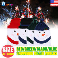 snowman chair covers snowman chair covers ebay