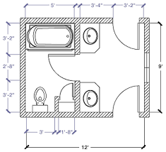 Bathroom Floor Plan by Kohler Canada 9 U0027 X 9 U0027 6