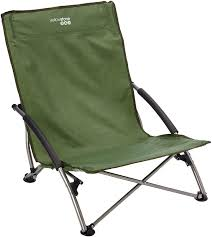 Low Back Beach Chair Yellowstone Low Profile Chair Blue Amazon Co Uk Sports U0026 Outdoors