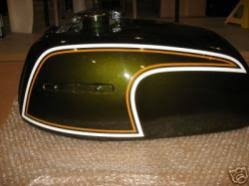 where can i buy the brookland green paint for the 2013 thruxton