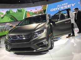 2018 honda odyssey awd redesign spy photos interior