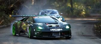 ford gt vs lamborghini murcielago drifting with the lambo murcielago and the ford mustang gt never