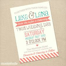coral wedding invitations rustic vintage turquoise coral wedding invite by casalastudio