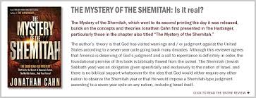 mystery of the shemitah the alliance for biblical integrity