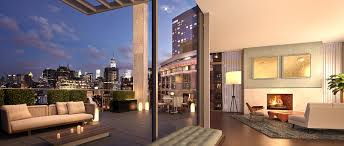 soho penthouses interior design