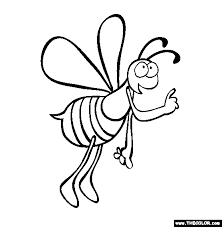 insect coloring pages 1