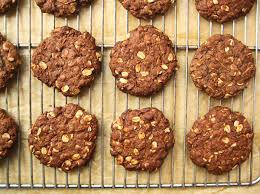 scientifically sweet chocolate anzac biscuits
