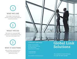office brochure templates blue office company brochure templates by canva