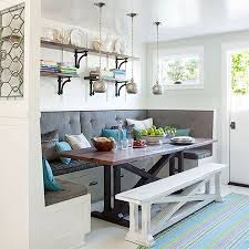 no dining room home dzine home diy ideas banquette for kitchen or dining room