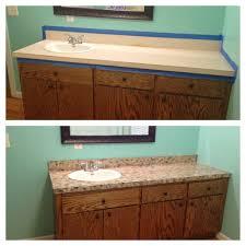 before u0026 after bathroom countertops faux granite erra u0027s projects
