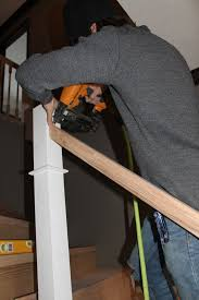 What Is A Banister On Stairs by Remodelaholic Curved Staircase Remodel With New Handrail