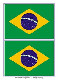 brazil flag printable world thinking day stuff pinterest