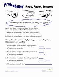rock paper scissors probability rock paper scissors scissors