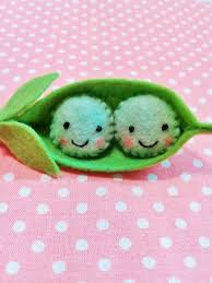 peas in a pod keychain felt two peas in a pod key chain felt pea pod felt