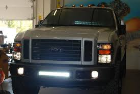 f250 led light bar led light bar installed diesel forum thedieselstop com